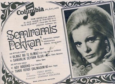 Semiramis Pekkan Şarkıları